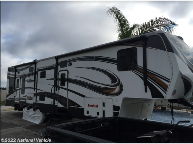 Used 2014 Keystone Fuzion Toy Hauler 390 available in Davenport, Florida