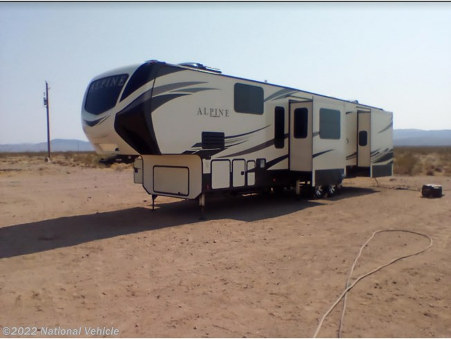 Used 2020 Keystone Alpine 3800FK available in Whitehills, Arizona
