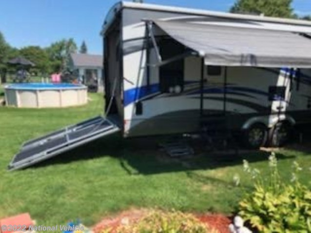 Used 2015 EverGreen RV Tesla Toy Hauler 3212 available in Owosso, Michigan
