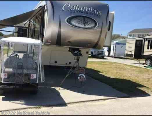 Used 2017 Palomino Columbus Compass 377MBC available in Gastonia, North Carolina