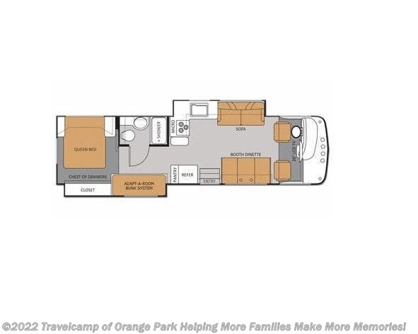 2012 Thor WINDSPORT 33G - Used Class A For Sale by Travelcamp of Orange Park in Jacksonville, Florida