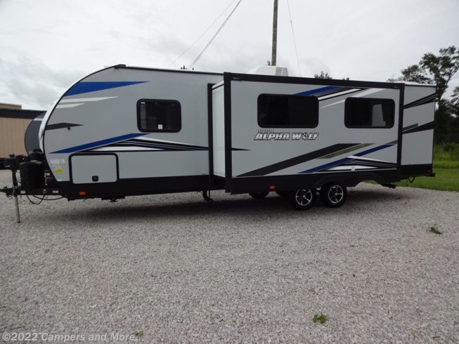 2021 Forest River Alpha Wolf 26RB-L - New Travel Trailer For Sale by Campers and More in Mobile, Alabama