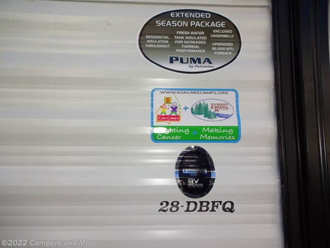 New 2021 Palomino Puma 28DBFQ available in Mobile, Alabama