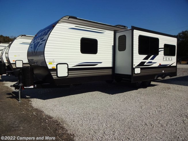 2021 Palomino Puma 28DBFQ - New Travel Trailer For Sale by Campers and More in Mobile, Alabama