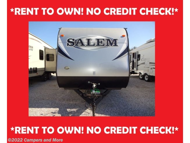 Used 2014 Forest River Salem 26TBUD/RENT TO OWN/NO CREDIT CHECK available in Mobile, Alabama