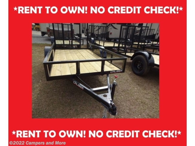 New 2021 Caliber 5X10 UTILITY/RENT TO OWN/NO CREDIT CHECK available in Mobile, Alabama