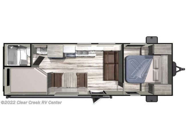 2020 Highland Ridge Open Range Conventional OT26BH - New Travel Trailer For Sale by Clear Creek RV Center in Puyallup, Washington