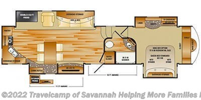 2013 CrossRoads Rushmore RF39RS - Used Fifth Wheel For Sale by Travelcamp of Savannah in Savannah, Georgia