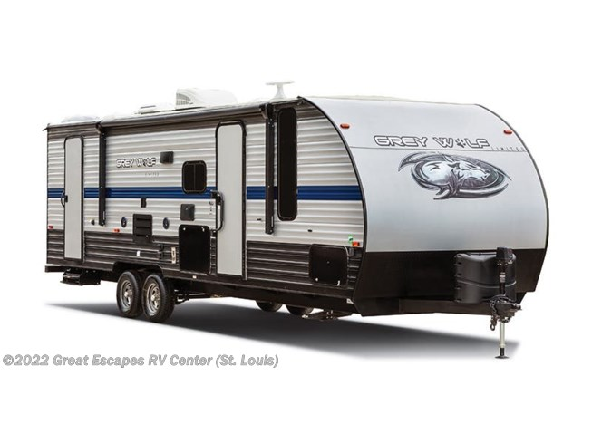 New 2021 Forest River Cherokee Grey Wolf 26DJSE available in Eureka, Missouri