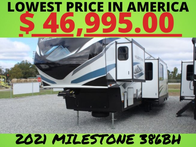 New 2021 Heartland Milestone 386BH available in Salem, Alabama