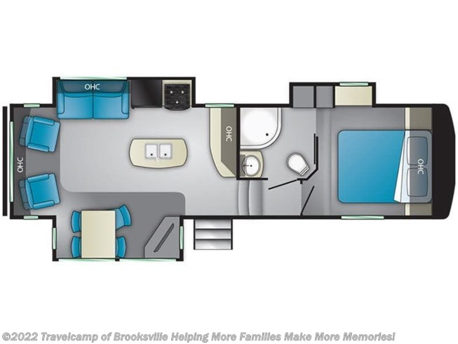 2019 Heartland Sundance 289TS - Used Fifth Wheel For Sale by Travelcamp of Brooksville in Brooksville, Florida