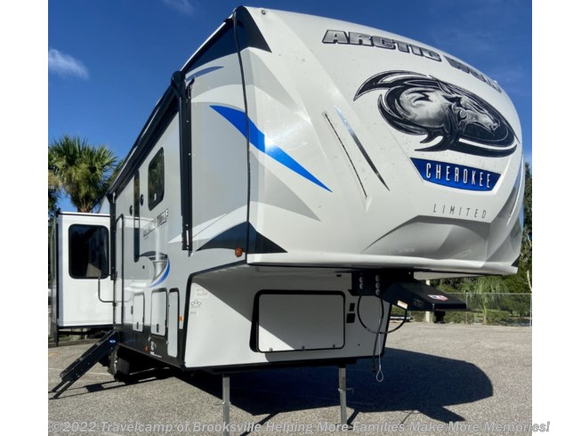 New 2021 Forest River Cherokee ARCTIC WOLF 3550 SUITE available in Brooksville, Florida