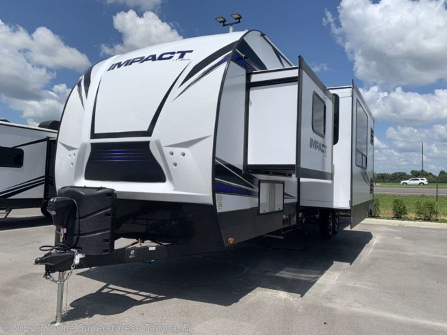 2020 Keystone Impact Travel Trailer Toy Hauler 317 - New Travel Trailer For Sale by RV One Superstore Tampa in Dover, Florida features Awning