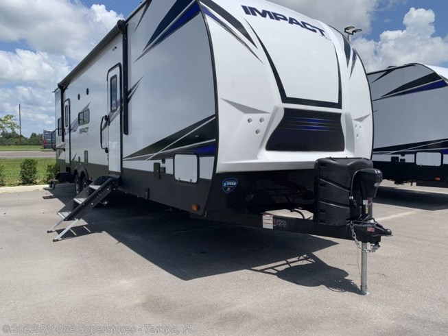 2020 Impact Travel Trailer Toy Hauler 317 by Keystone from RV One Superstore Tampa in Dover, Florida