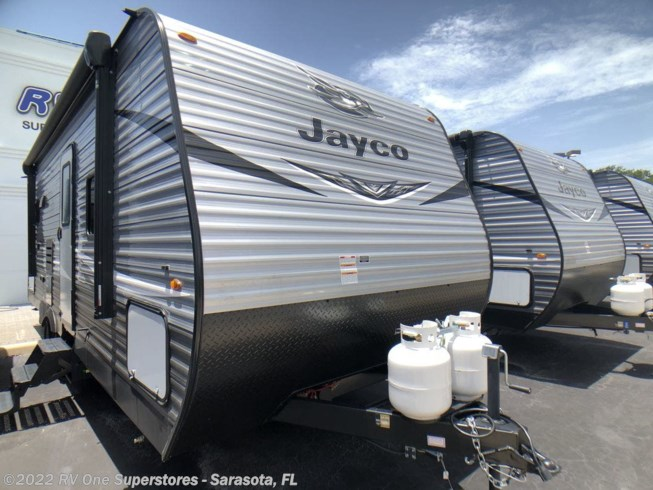 2020 Jayco Jay Flight SLX 8' Wide 245 RLS - New Travel Trailer For Sale by RV One Superstore Sarasota in Sarasota, Florida features Awning
