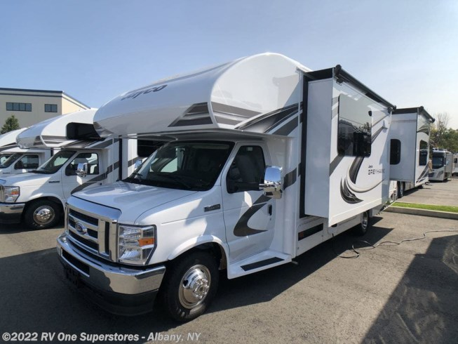 2021 Jayco Greyhawk 27U - New Class C For Sale by RV One Superstore Albany in Latham, New York features Awning