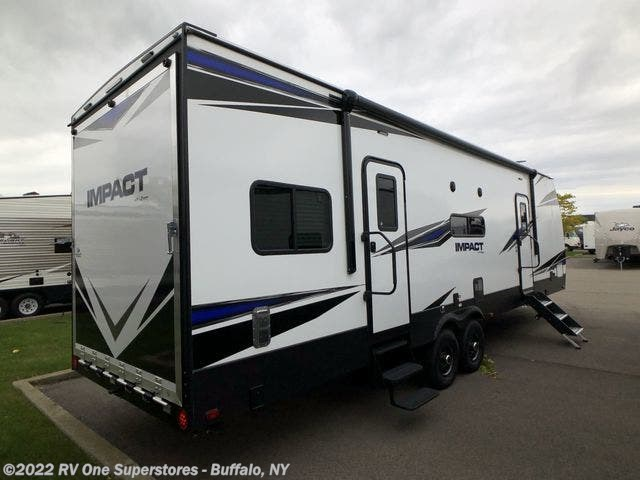 New 2020 Keystone Impact Travel Trailer Toy Hauler available in West Seneca, New York