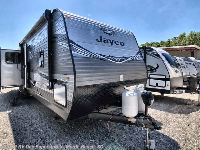 2020 Jayco Jay Flight 34RSBS - New Travel Trailer For Sale by RV One Superstore Myrtle Beach in Myrtle Beach, South Carolina features Awning