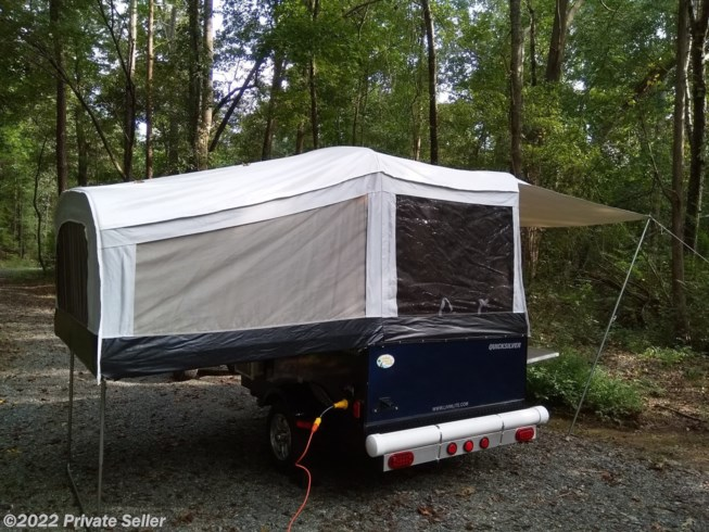 2018 Livin' Lite Quicksilver 6.0 - Used Popup For Sale by Private Seller in Gastonia, North Carolina features Air Conditioning, Awning