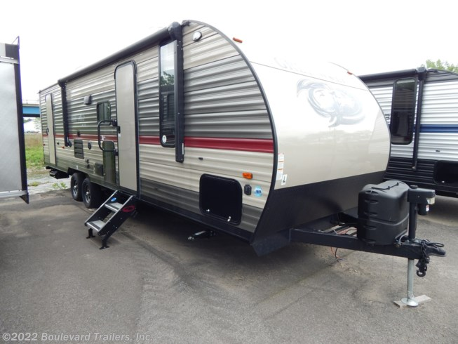 2019 Grey Wolf 26DBH by Forest River from Boulevard Trailers, Inc. in Whitesboro, New York