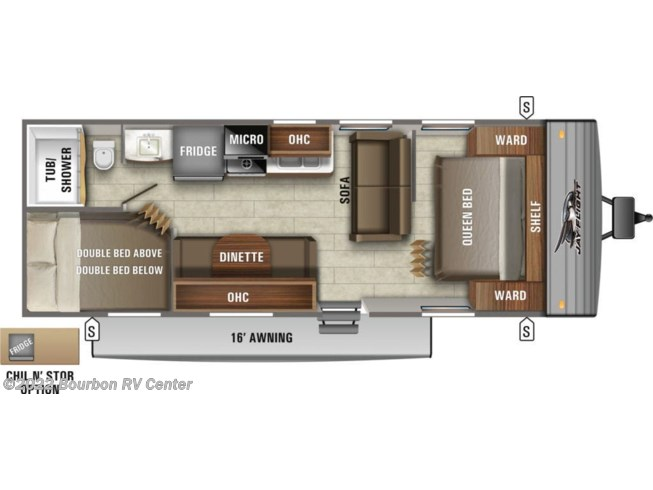 New 2021 Jayco Jay Flight SLX 8 264BH available in Bourbon, Missouri