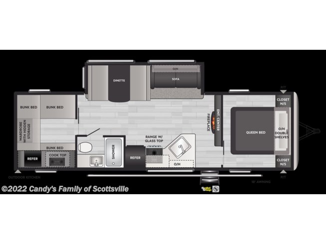 2021 Keystone Springdale - New Travel Trailer For Sale by Candy's Family of Scottsville in Scottsville, Kentucky