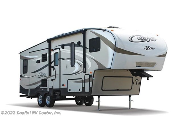 Stock Image for 2017 Keystone Cougar XLite 28RKS (options and colors may vary)