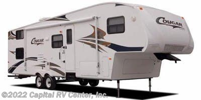 Stock Image for 2008 Keystone Cougar 245RKS (East) (options and colors may vary)