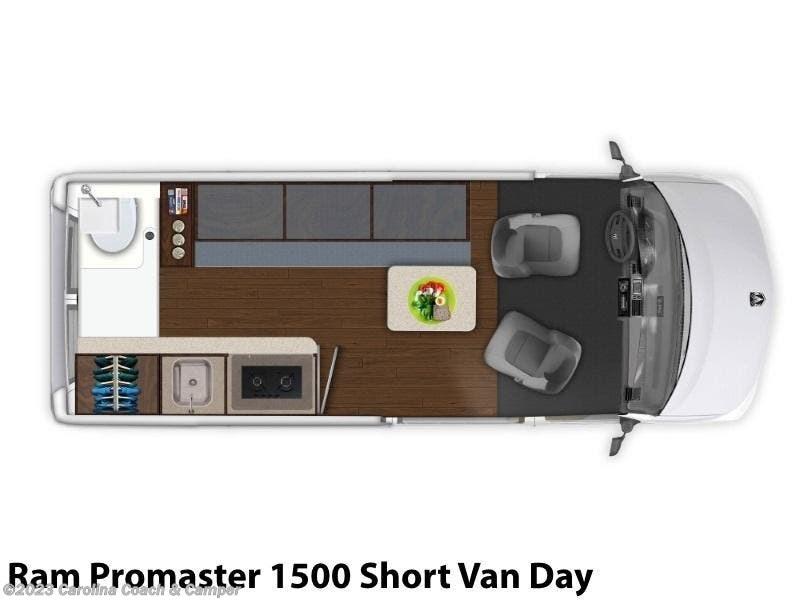 2019 Carado RV Axion Ram Promaster 1500 Short Van Day for Sale in  Claremont, NC 28610 | R5998
