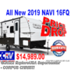 New 2019 Prime Time Navi 16FQ For Sale by CCRV, LLC Home of the Lifetime Warranty available in Corpus Christi, Texas