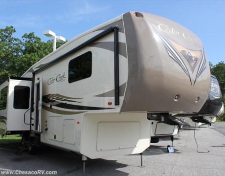 04886 2017 Forest River Cedar Creek 34re For Sale In