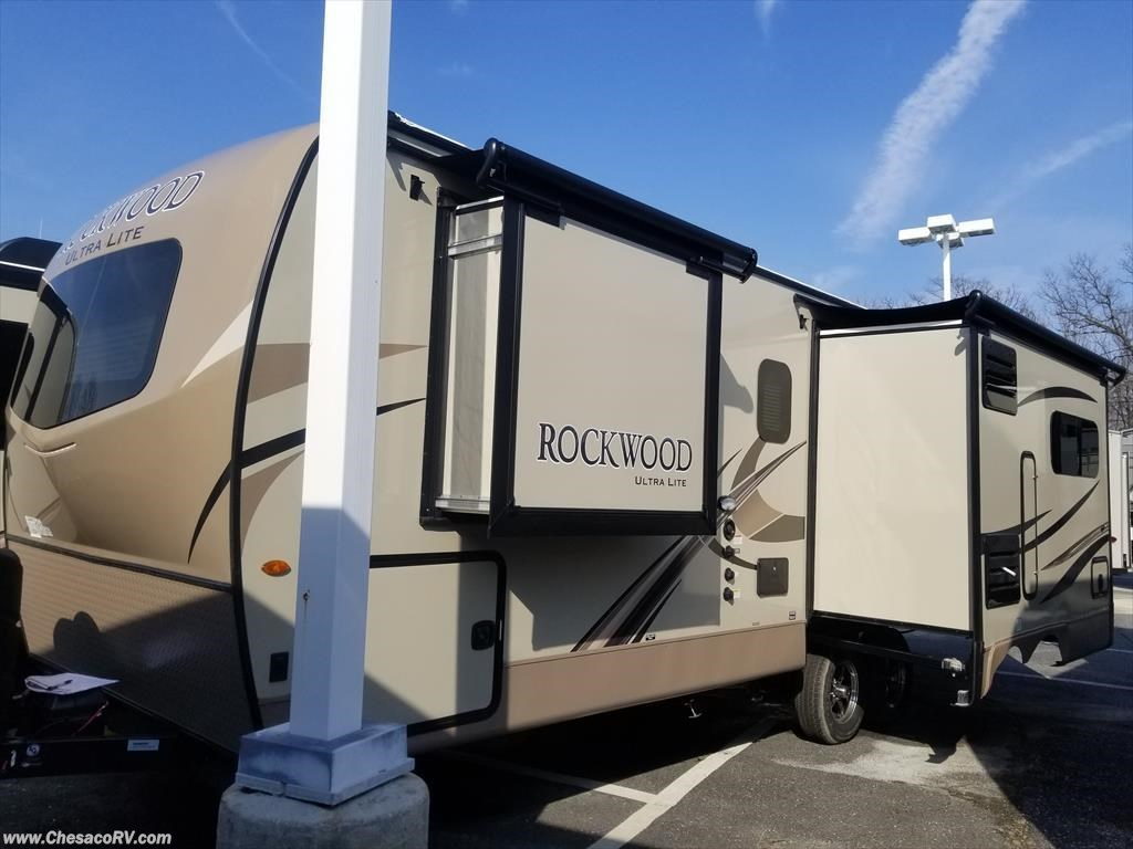 06075 2018 Forest River Rockwood Ultra Lite 2612ws For Sale In Wiring Diagram Chesaco Rv Joppa Travel Trailer By