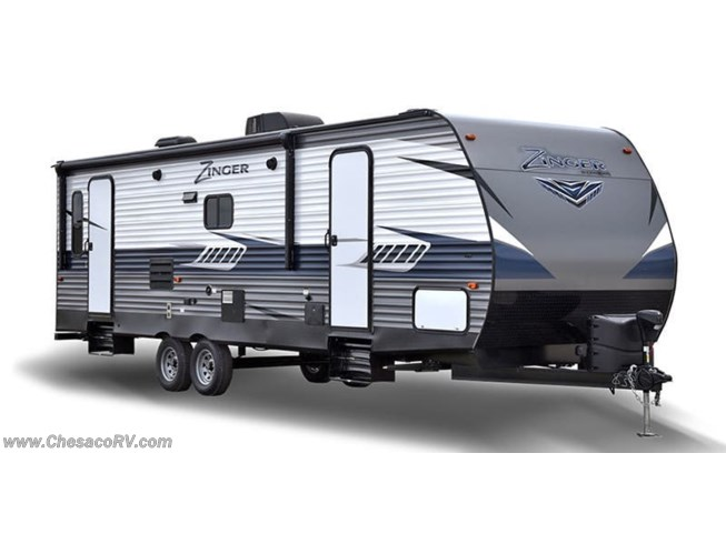 Stock Image for 2019 CrossRoads Zinger ZR328SB (options and colors may vary)