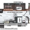2019 Forest River Rockwood Ultra Lite 2911BS floorplan image