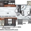 2019 Forest River Rockwood Ultra Lite 2906RS floorplan image