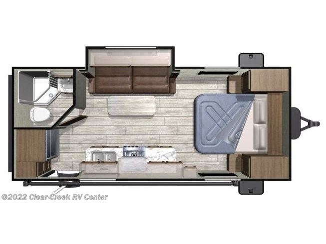 2020 Highland Ridge Open Range Conventional OT20FBS - New Travel Trailer For Sale by Clear Creek RV Center in Silverdale, Washington