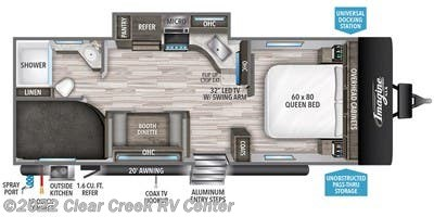 2021 Grand Design Imagine XLS 23BHE - New Travel Trailer For Sale by Clear Creek RV Center in Silverdale, Washington