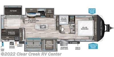 2021 Grand Design Reflection 312BHTS - New Travel Trailer For Sale by Clear Creek RV Center in Silverdale, Washington