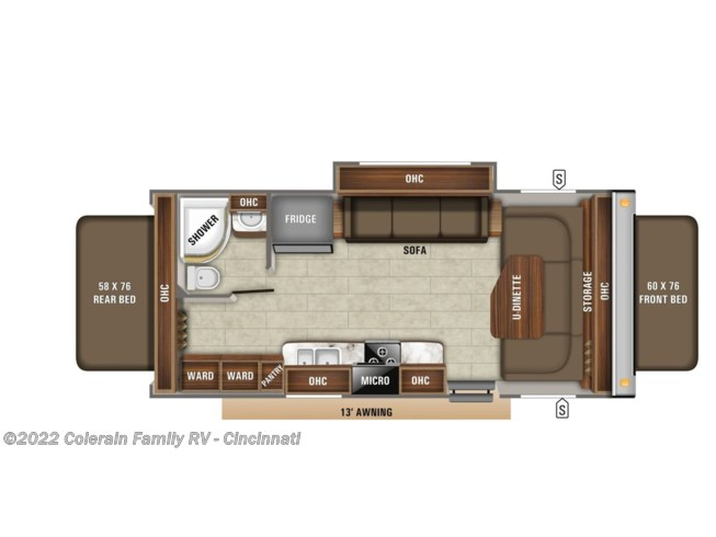 2020 Jayco Jay Feather - New Travel Trailer For Sale by Colerain RV of Cinncinati in Cincinnati, Ohio