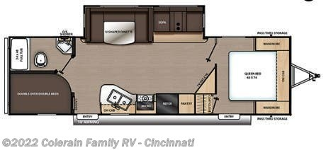New 2021 Coachmen Catalina Legacy Edition 263BHSCK available in Cincinnati, Ohio