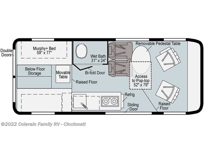 2021 Winnebago Solis 59P - New Class B For Sale by Colerain RV of Cinncinati in Cincinnati, Ohio