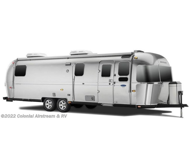 Stock Image for 2018 Airstream Classic 30RB Queen (options and colors may vary)