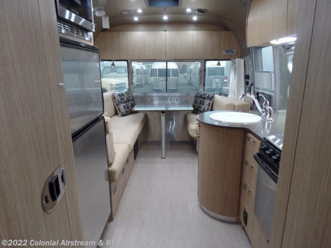 2019 Airstream Flying Cloud 25RBT Twin - New Travel Trailer For Sale by Colonial Airstream & RV in Millstone Township, New Jersey features Air Conditioning, Auxiliary Battery, Awning, Booth Dinette, Bunk Beds, CD Player, CO Detector, DVD Player, External Shower, Leveling Jacks, LP Detector, Medicine Cabinet, Microwave, Oven, Power Roof Vent, Refrigerator, Roof Vents, Shower, Smoke Detector, Spare Tire Kit, Stove Top Burner, Surround Sound System, Toilet, TV, Water Heater