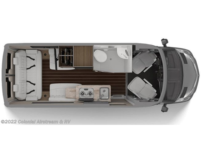 2020 Airstream Interstate Nineteen Base floorplan image