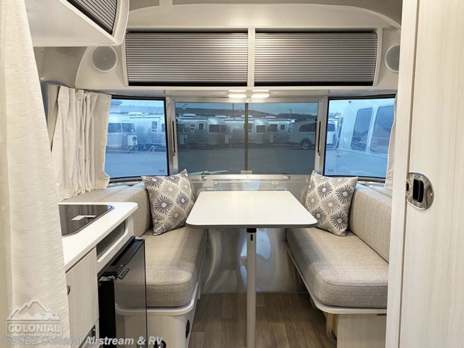 2021 Airstream Bambi 16RB - New Travel Trailer For Sale by Colonial Airstream & RV in Millstone Township, New Jersey features Roof Vents, Stove Top Burner, External Shower, Air Conditioning, Water Heater