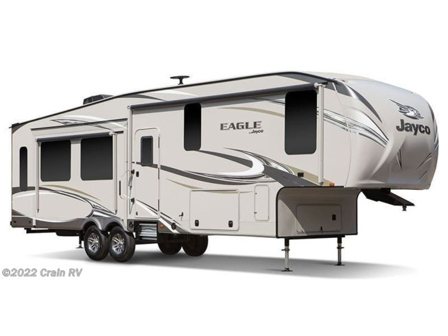 Stock Image for 2018 Jayco Eagle 355MBQS (options and colors may vary)