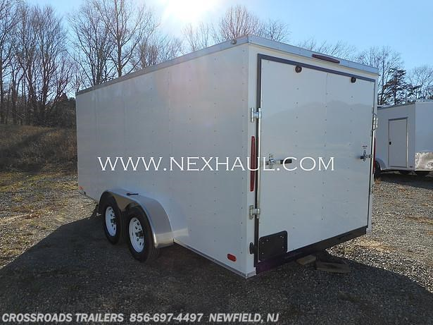 2021 Nexhaul 7x16 ENCLOSED CARGO TRAILER - New Cargo Trailer For Sale by Crossroads Trailer Sales, Inc. in Newfield, New Jersey