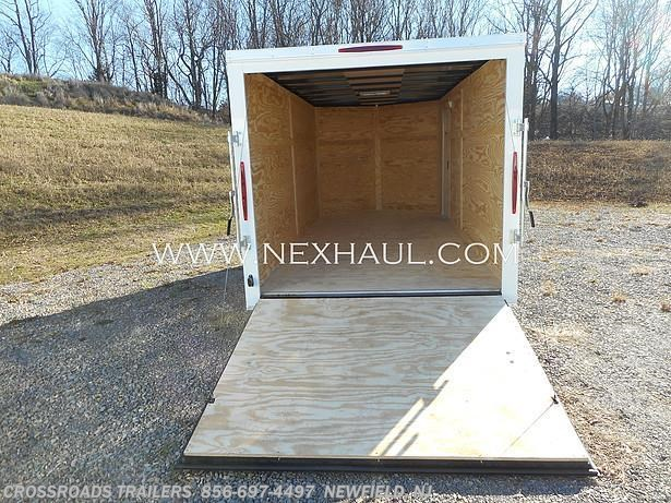 2021 7x16 ENCLOSED CARGO TRAILER by Nexhaul from Crossroads Trailer Sales, Inc. in Newfield, New Jersey