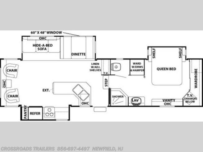 2001 Forest River Cedar Creek 34ckts Rv For Sale In Newfield Nj 08344 1908 Rvusa Com Classifieds