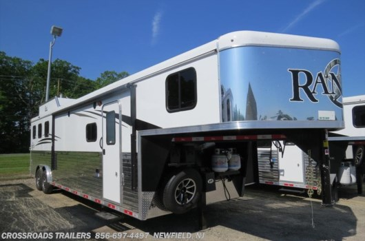 Horse Trailer - 2019 Bison Ranger 8313RGGB Living Quarter Trailer available New in Newfield, NJ